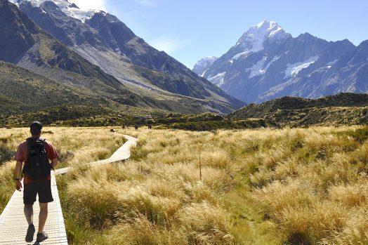 randonnées de l'île du Nord en Nouvelle-Zélande